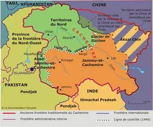 Carte Inde Pakistan Cachemire.Conflict In Kashmir Geopolitics Geostragy Mistakes In