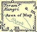 Carte am�ricaine glacier du Siachen