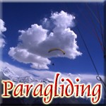 Paragliding in the Northern Kashmir